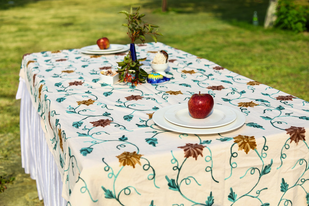 Rectangle – Pecan Candy Tablecloth