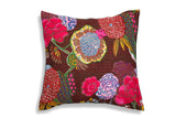 The Turquoise Joy - Kantha Cushion Cover