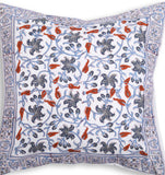 Crystal Minds – Block Print Cushion Cover