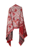 Poised Marilyn – Handwoven Pashmina Wool Scarf