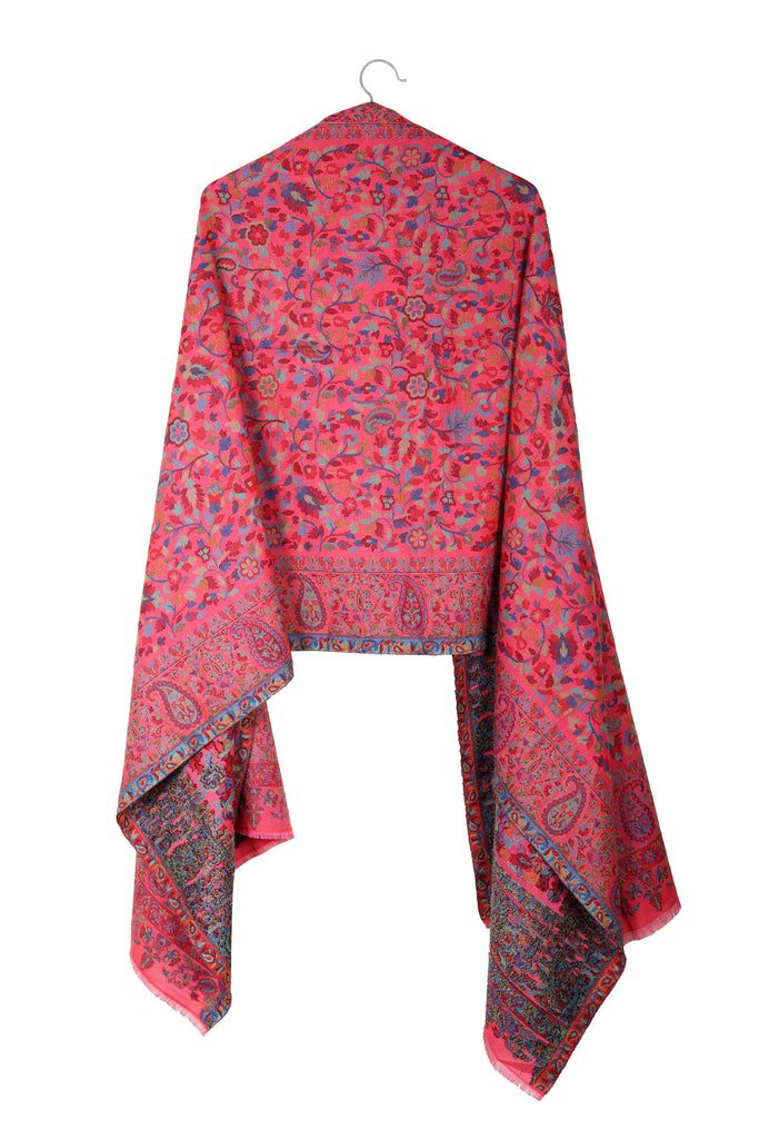 Bubbly Alice – Handwoven Pashmina Wool Scarf