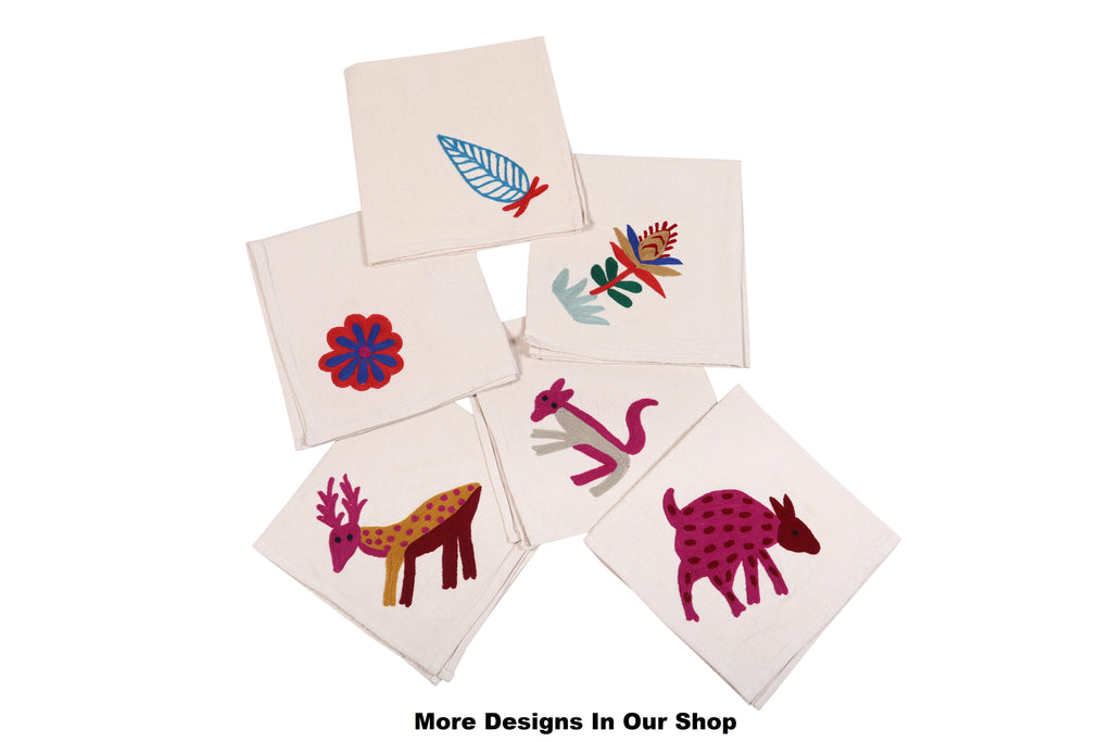 The New Delhi Placemats Napkins Set