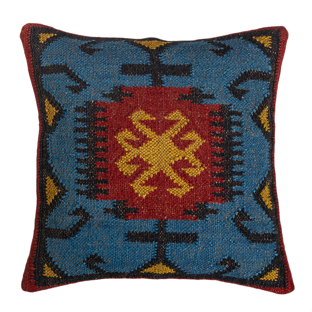 The Crystal Fog - Kilim Pillowcase