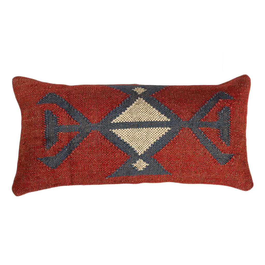 The Celestial Chaos - Lumbar Kilim Pillowcase