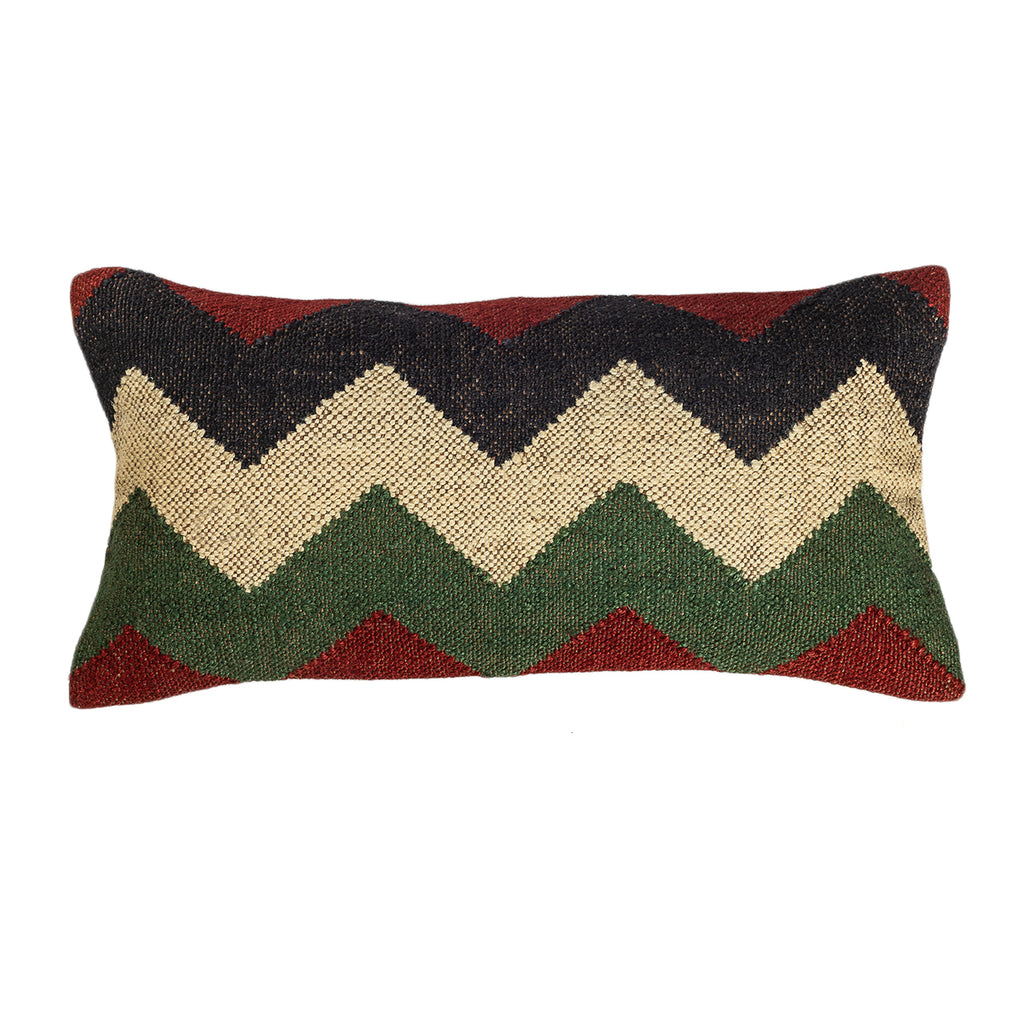 The Aurora - Lumbar Kilim Pillowcase