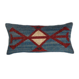 The Water Sky - Lumbar Kilim Pillowcase