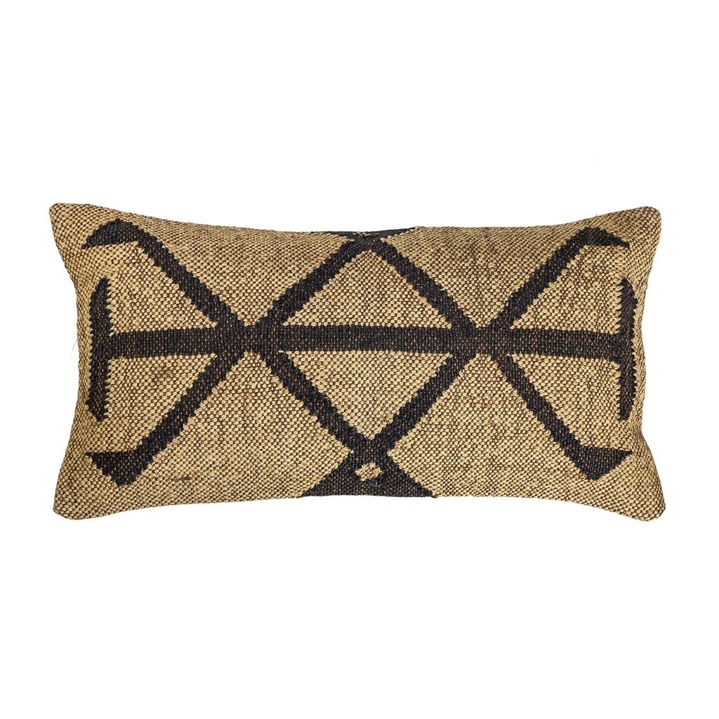 The Ice Blink – Lumbar Kilim Pillowcase