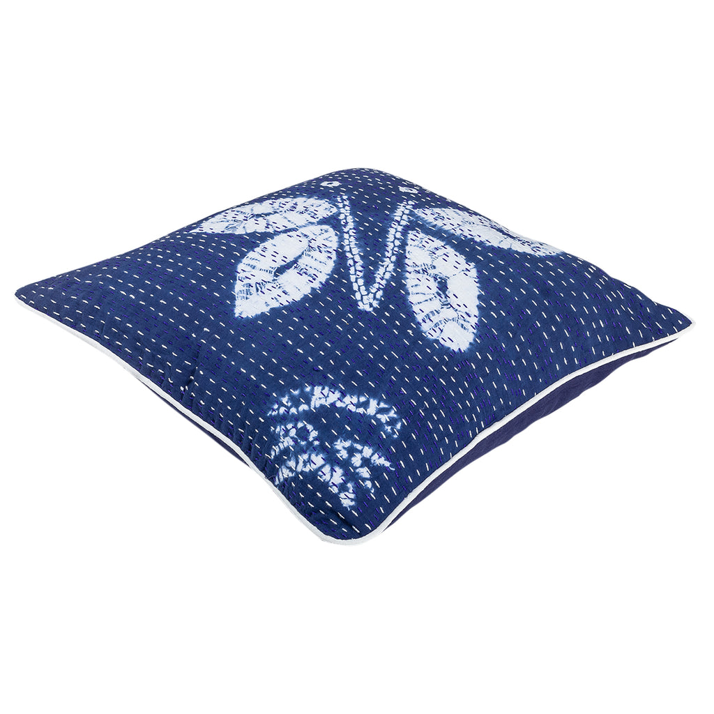 The Indigo Novelty - Kantha Cushion Cover