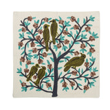 The Sparrows - Custom Embroidered Pillow Cover