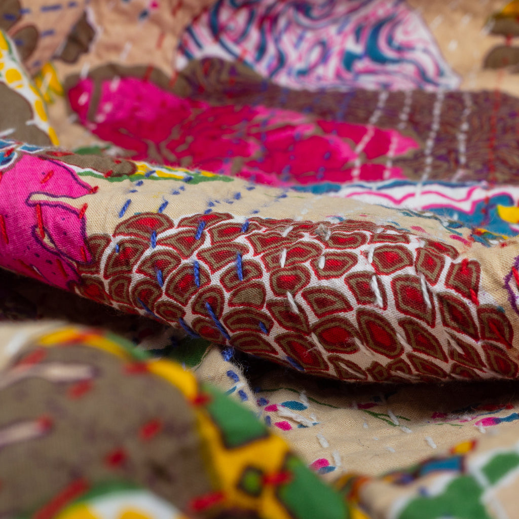 The Moonriver – Kantha Throw