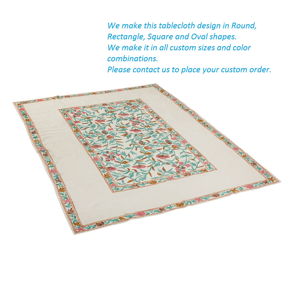 Round – Bubblegum Bun Tablecloth