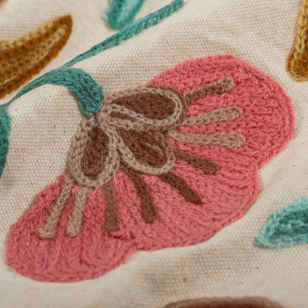 Oval Pink Daisies Tablecloth
