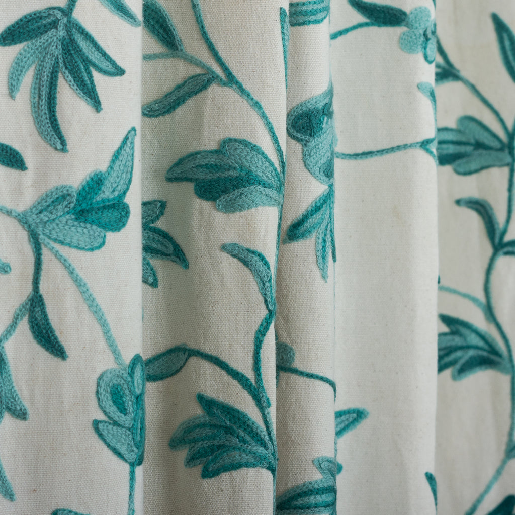 Round - Teal Tablecloth