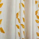 Gold Leaf Curtains – Custom Made
