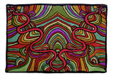 Trippy Hippy- Custom Embroidered Pillow Cover