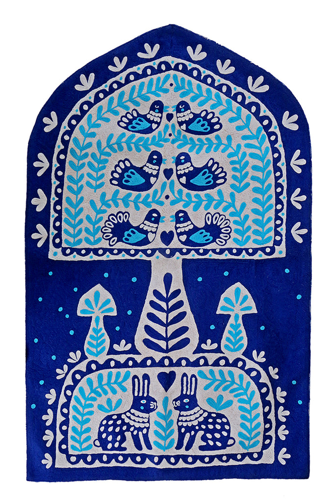 The Blue Bay of Nature Rug Tapestry