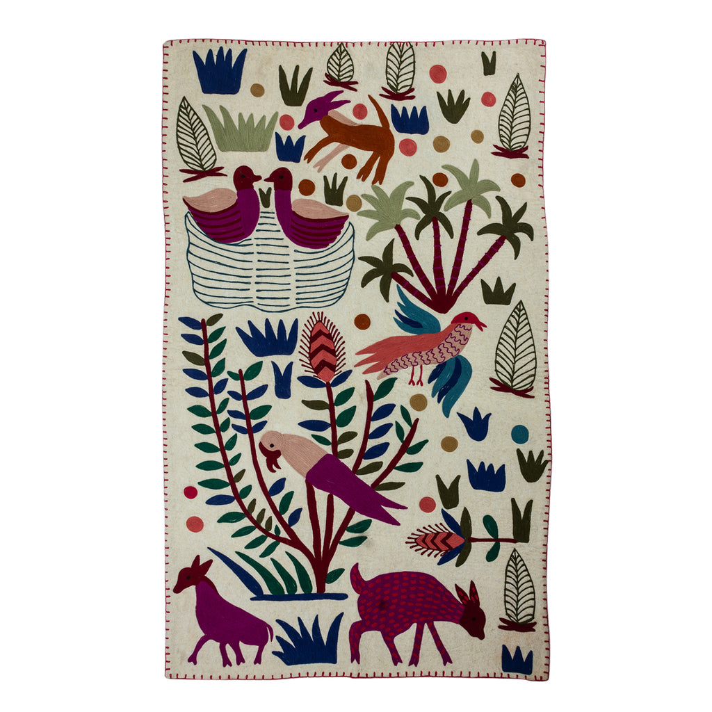The Feather Friends Rug Tapestry