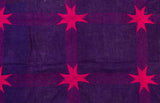 The Purple Rain – Kantha Throw