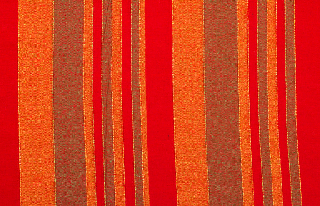 The Flaming Cherry - Handloom Cotton Blanket