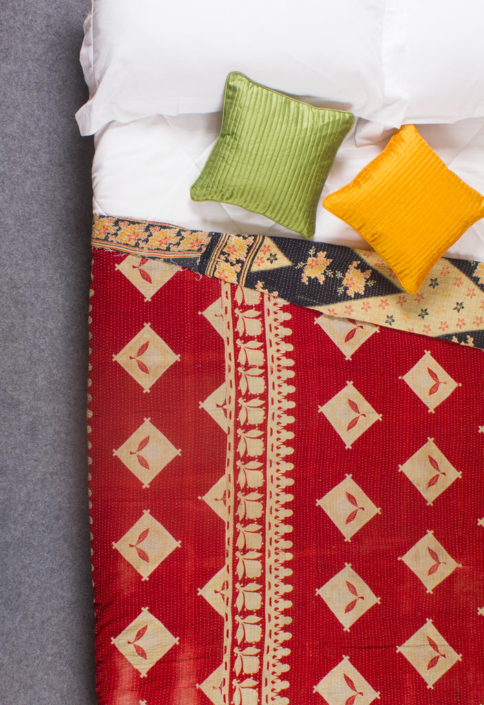 The Sherry – Kantha Throw