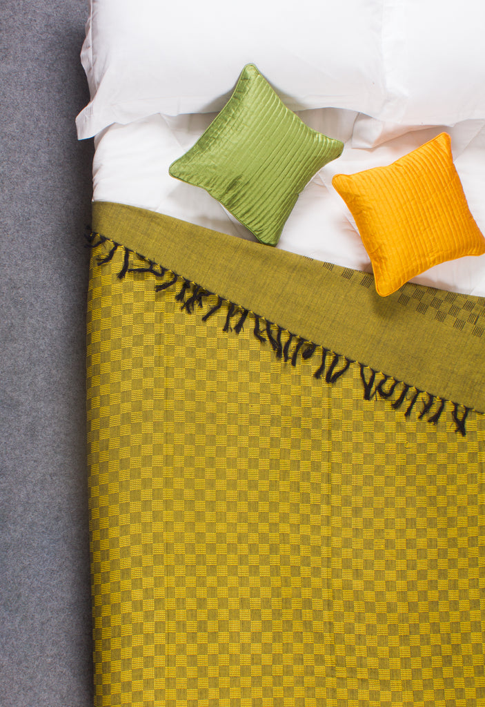 The Golden Fleece - Handloom Cotton Blanket