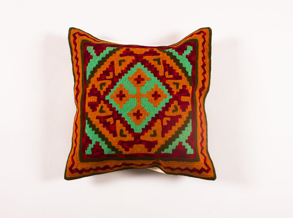 Persuasion - Custom Embroidered Pillow Cover