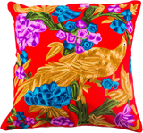 The Hummingbird - Custom Embroidered Pillow Cover