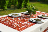 Oval - Pecan Candy Tablecloth
