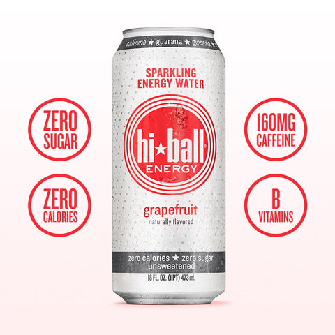 Hiball Energy Grapefruit