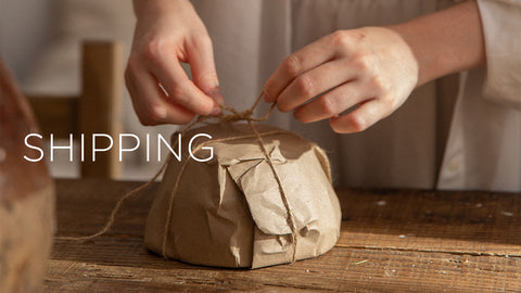 natu handcraft studio shipping policy recycled biodegradable packaging wrappers