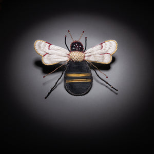 Thread Beetle Brooch