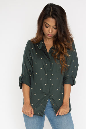 Load image into Gallery viewer, Olive Horses Shirt