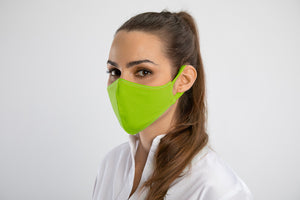 Load image into Gallery viewer, Lime Green PLV Mask