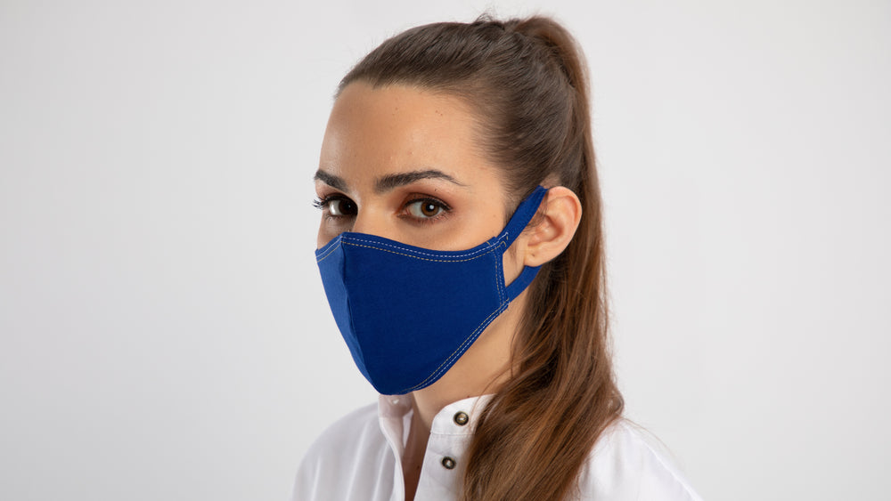 Royal Blue PLV Mask