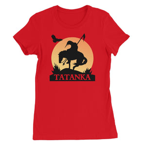 Tatanka End Of The Trail Women's Short Sleeve T-Shirt