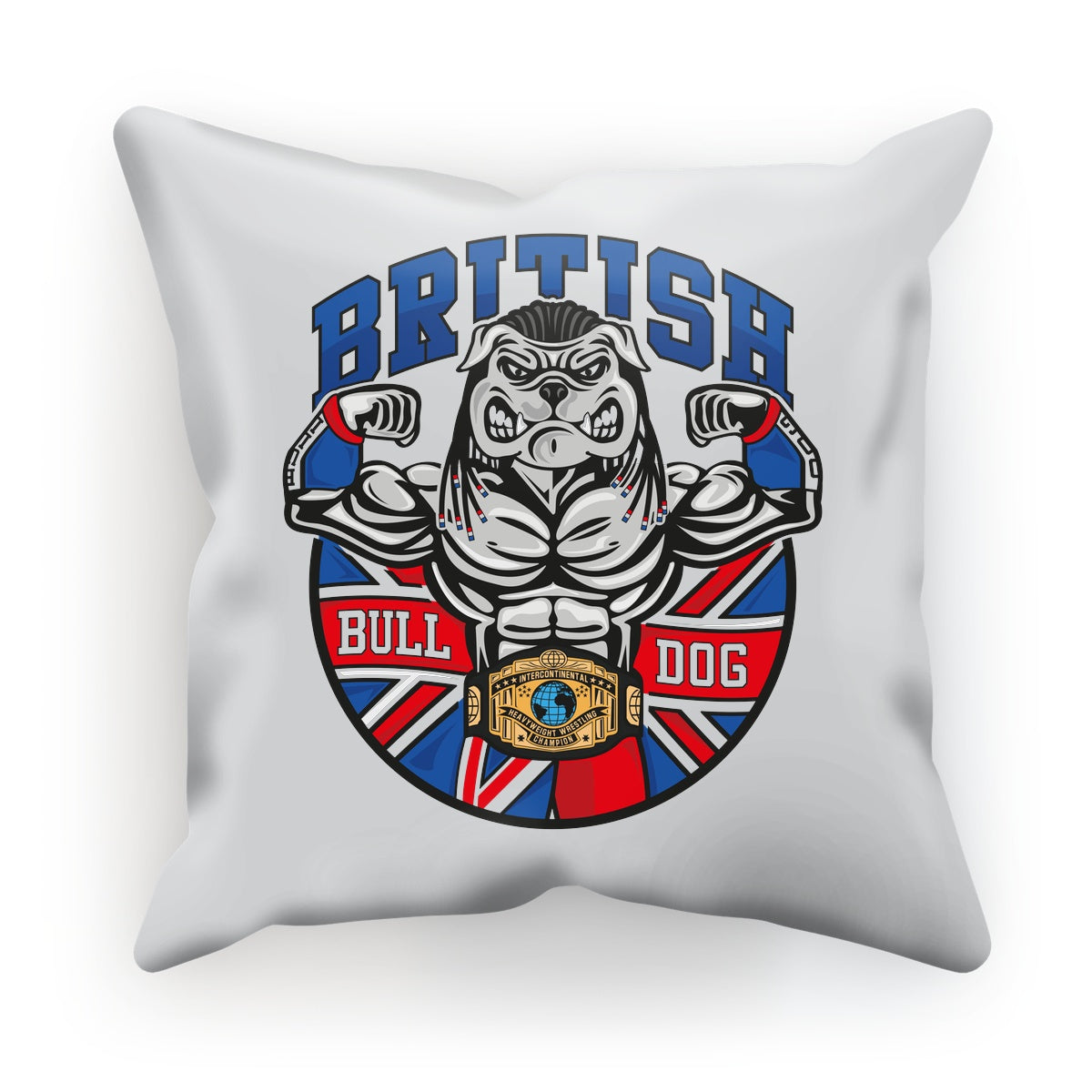British Bulldog Matilda Cushion