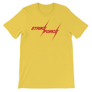 Strike Force Logo Unisex Short Sleeve T-Shirt