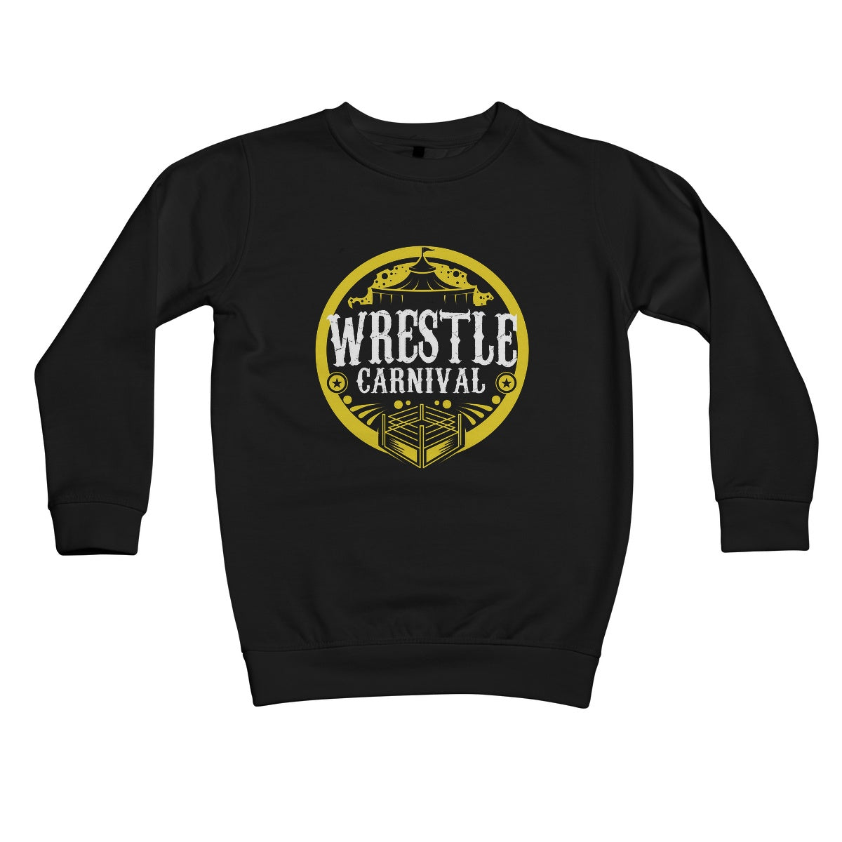 Wrestle Carnival Gold Logo Kids Retail Sweatshirt