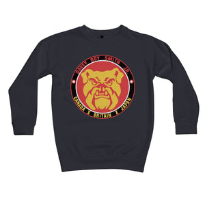 Davey Boy Smith Jr Japan Bulldog Kids Sweatshirt