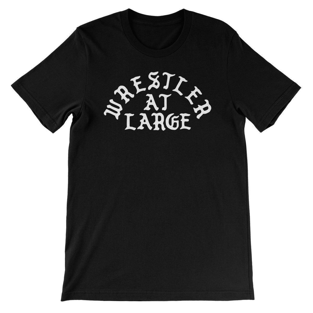 CxE Wrestler At Large Unisex Short Sleeve T-Shirt