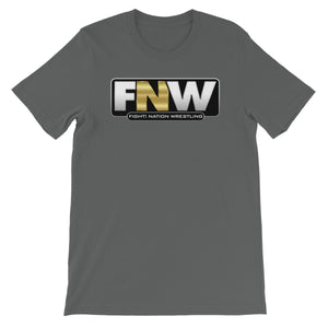 Fight! Nation Wrestling Logo Unisex Short Sleeve T-Shirt