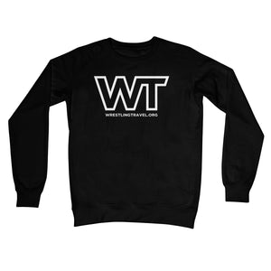 Wrestling Travel Logo Crew Neck Sweatshirt