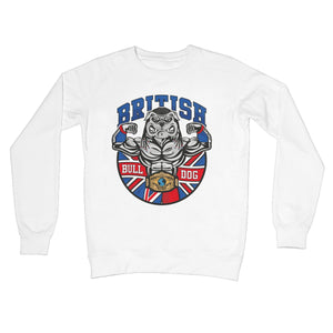 British Bulldog Matilda Crew Neck Sweatshirt