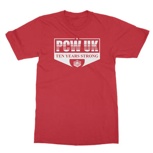 PCW UK 10th Anniversary  Softstyle T-Shirt