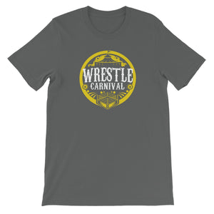 Wrestle Carnival Gold Logo Unisex Short Sleeve T-Shirt
