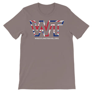 Wrestling Travel UK Logo Unisex Short Sleeve T-Shirt