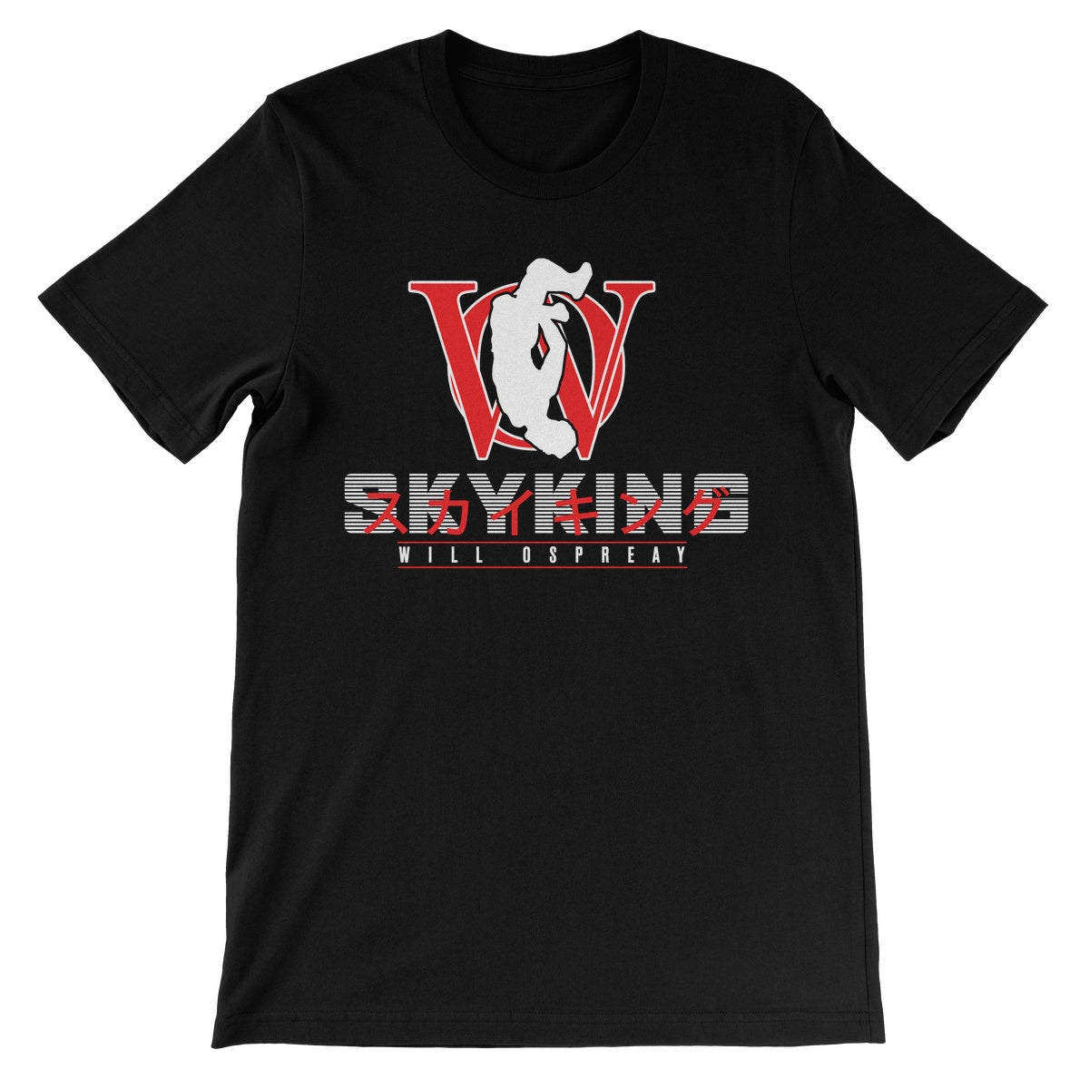 Will Ospreay SkyKing Unisex Short Sleeve T-Shirt