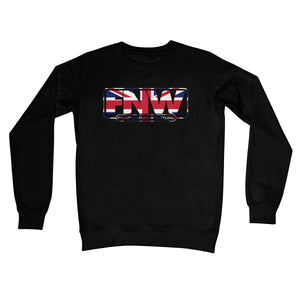 Fight! Nation Wrestling UK Logo Crew Neck Sweatshirt
