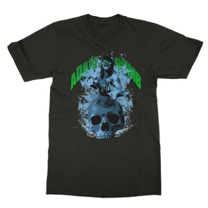 Adam Bomb  Skull Flame Softstyle T-Shirt