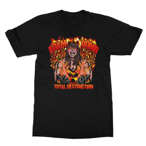 Adam Bomb Flame Bomb Softstyle T-Shirt